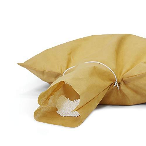Bruni FILLcloud Sitzsack-Nachfüllpack (100 l) – lebensmittelechte EPS-Perlen aus Deutschland, Neuware, nachhaltige Sitzsack-Füllung, wiederverwendbarer Beutel zum einfachen Befüllen des Sitzsacks