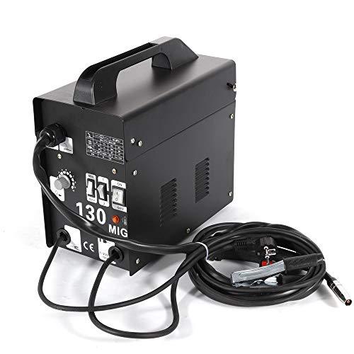 Machine de Soudure à Electrode, Soudeuse à Electrode MIG-130, Soudage à Electrode avec un Noyau de Flux de 120 Ampères