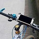 Soporte movil Bici,Bicicleta Soporte para teléfono móvil Bicicleta Motocicleta vehículo eléctrico Soporte de navegación Universal batería Coche Marco de Montar a Caballo de montaña, Rosa