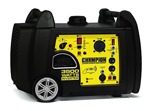 Champion 3500-Watt Wireless Start Inverter Generator with Remote Key Fob