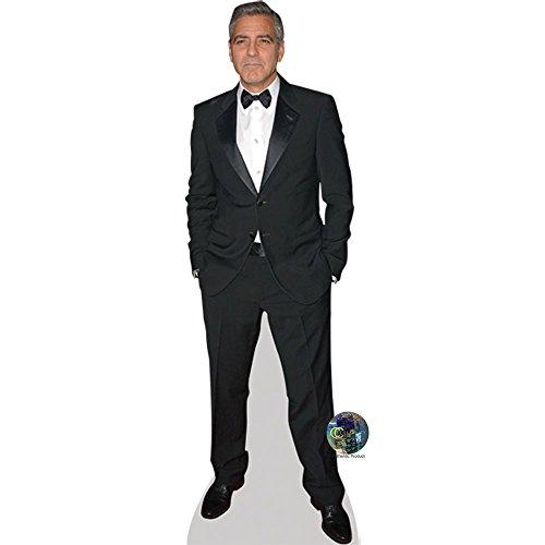 Celebrity Cutouts George Clooney (Suit) Pappaufsteller lebensgross
