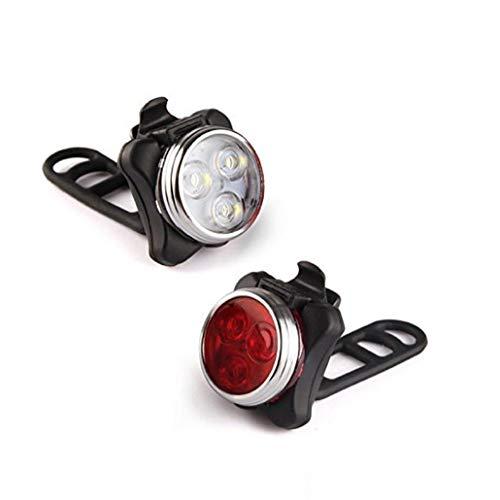UGsLTyVqv 1 Paar Led Fahrrad-licht Sehr Hell Fahrrad Led Licht-Einfassung Bei Nebeln Lenkern Sattelstütze Rot Und Weiß Frosch-licht Durch Einfaches Radfahren
