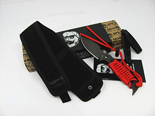 HEST II Assault Paracord and/or G10 Handles Fixed Blade Knife Made in Italy by LionSTEEL DPx Gear