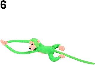 GlobalDeal Long Arm Hanging Monkey Baby Toys Stuffed Animals Soft Plush Doll Kids Gift - Green
