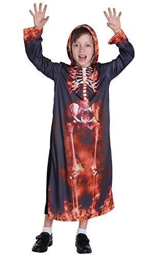 N / A Cosplay Halloween Novedad Regalo Disfraz para niños Disfraz de Anime Disfraz de Ninja Vestido de Navidad para niños pequeños Body Height:90-105cm