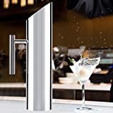 Stainless Steel Pitcher, Cold Drinking Water Jug with Ice Guard for Home Use Hotel Serving(2L)