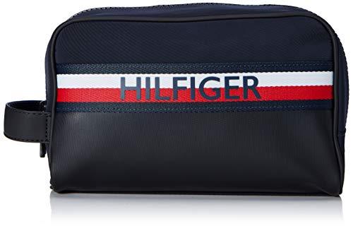 Tommy Hilfiger Herren Urban Mix Washbag Ausweis-& Kartenhülle, Mehrfarbig (Corporate), 0.1x0.1x0.1 centimeters