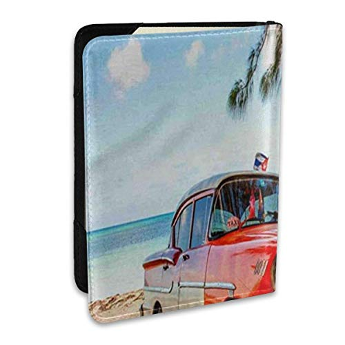 Car Under The Tree Passport Covers,Passport Wallet and Passport Holder Travel Accessories