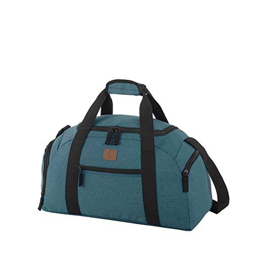 Rada Reisetasche Discover S 22 Liter Volumen, Wasserabweisende Sporttasche für Jungen und Mädchen, Reisetasche perfekt für den Kurzurlaub für Damen und Herren (Maße: 22x45,5x24cm) (Petrol)