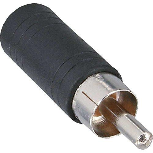 InLine 99325 Audio Adapter, Cinch Stecker auf 3,5mm Klinke Buchse, Mono