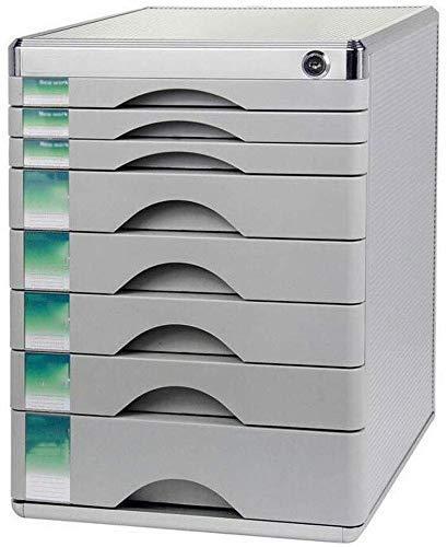 Szafki na dokumenty Duże miejsce do przechowywania plików Okrągły rowek Szafka biurkowa ze stopu aluminium Termin dostawy - regał 30x36x40,5cm