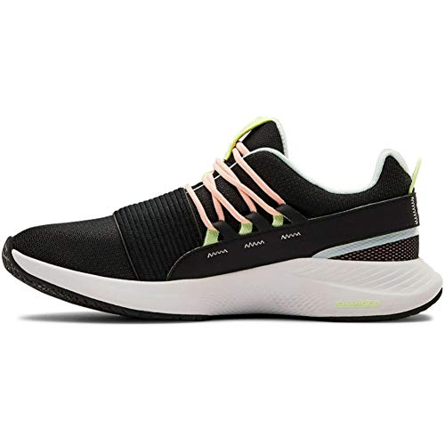 Under Armour Women's Charged Breathe LACE Sneaker, Black (005)/Onyx White, 8.5