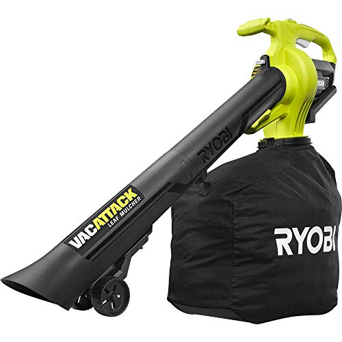 RYOBI 40-Volt Lithium-Ion Cordless Battery Leaf Vacuum/Mulcher (Tool Only)