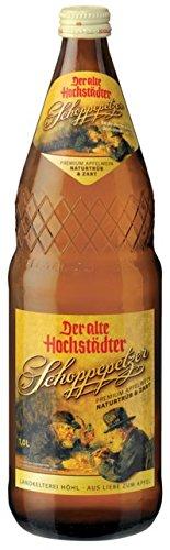 Der alte Hochstädter Schoppenpetzer Apfelwein 6 x 1l, inkl. 0.90 Euro Pfand, MEHRWEG