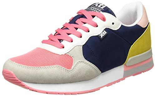 XTI 42402, Zapatillas Mujer, Navy, 40 EU