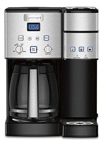 Cuisinart SS-15FR 12 Cup Coffeemaker Brewer (Renewed) Coffemaker/Single-Serve One Size Silver