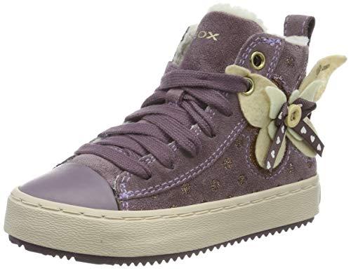Geox Mädchen J Kalispera Girl A Hohe Sneaker, Pink (Lt Prune C8023), 36 EU