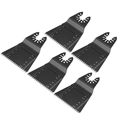 Metal Madera Universal Oscilante Multiherramienta Sierra de liberación rápida Hojas de sierra oscilantes, para herramientas Dewalt Hojas de herramientas oscilantes Bosch