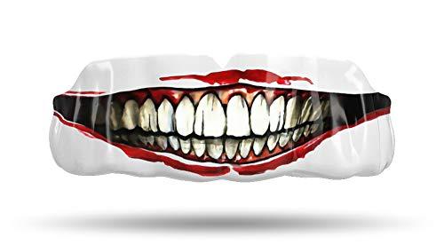 Impact Custom Professional All Sports Mouthguard Football,Brazilian Jiu-Jitsu, Martial Arts, Hockey, Basketball (Joker Smile)