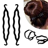 WWLZ Herramientas de Belleza Accesorios para el Peinado del Cabello Set Braiders Hair Pin Roller Maker Trenzado Twist Curler Herramientas para el Peinado del Cabello