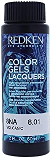 Redken Color Gels Lacquers Haircolor - 8na Volcanic By Redken For Unisex - 2 Oz Hair Color 2 oz