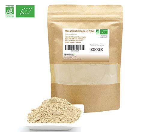 FRISAFRAN - Maca Gelatinizada Orgánica en Polvo (250Gr)