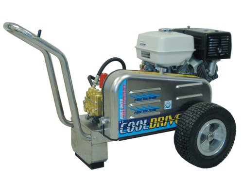 Big Save! EconoMax DB354 Gas Cold Water Belt Drive Pressure Washer, 3500 PSI, 4.0 GPM, 13 HP GX, Sta...