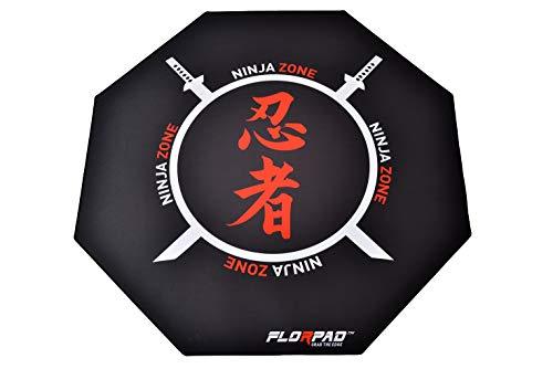 Florpad Ninja Zone - Alfombra (120 x 120 cm)