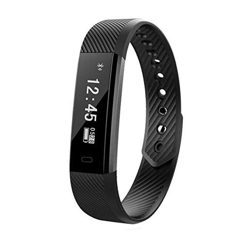 Zinniaya Fitness Activity Tracker ID115 Sportarmband Armband Schrittzähler Smart Band für iPhone iOS und Android Phone