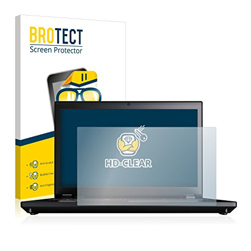 BROTECT Schutzfolie kompatibel mit Lenovo ThinkPad P71 klare Bildschirmschutz-Folie