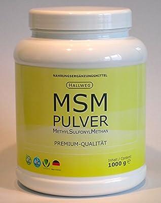 MSM Pulver MethylSulfonylMethan 1000 g Dose 1kg Made in Germany vegan noGMO