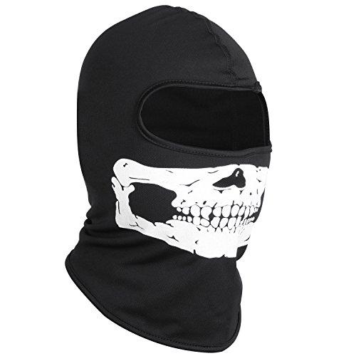 TRIXES Cráneo Balaclava para Trajes de Esquí de Motos Deportivas