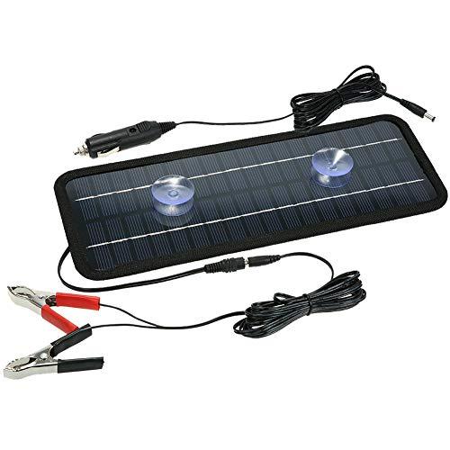 EastMetal Panel de Energía Solar Portátil 4.5W, Cargador Batería de Panel Solar...