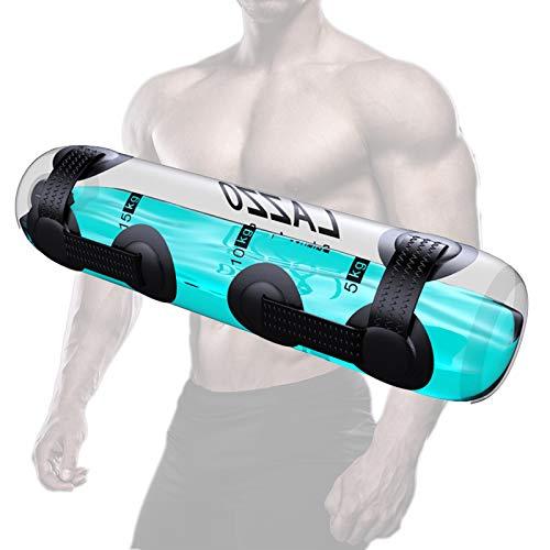Bolsas de arena de yoga, bolsa de agua de levantamiento de pesas ajustable, bolsa de arena alternativa Aqua Fits para entrenamiento de fuerza interior, mancuernas para el entrenamiento en el hogar