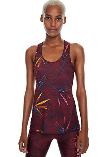 Desigual Top Mujer Modelo Tank TECH Étnico Ruby Whine