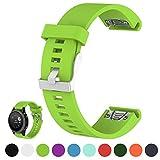 iFeeker Für Garmin Fenix 5S/Fenix 5S Saphhire Smartwatch Ersatz Uhrenarmband Band 20mm Breite Weich...