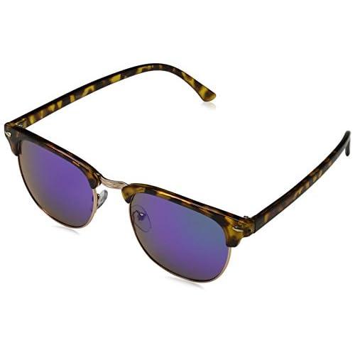 Sunglasses Cairo Occhiali da Sole, Multicolore (Demi/revo 003), 50