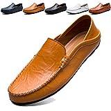 Unitysow Mocasines Hombres Zapatos de Vestir Casuales Holgazanes Slip...