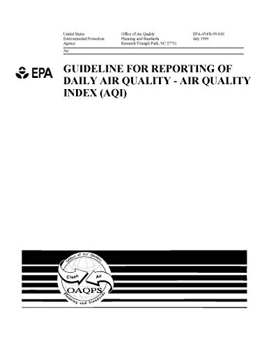 Guidelines for Reporting of Daily Air Quality - Air Quality Index (AQI) (English Edition)