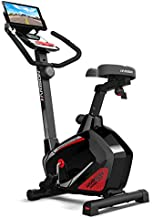HARISON Stationary Upright Exercise Bike with 14 Levels Magnetic Resistance for Indoor Home Gym Cardio Workout 350 LBS Capacity