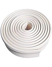 GARNECK Flexibele Schuimrubber Sierlijsten Zelfklevende Sierlijsten Wandlijnen Behangrand Voor Vloeren Plafonds Werkbladen en Meer 2M