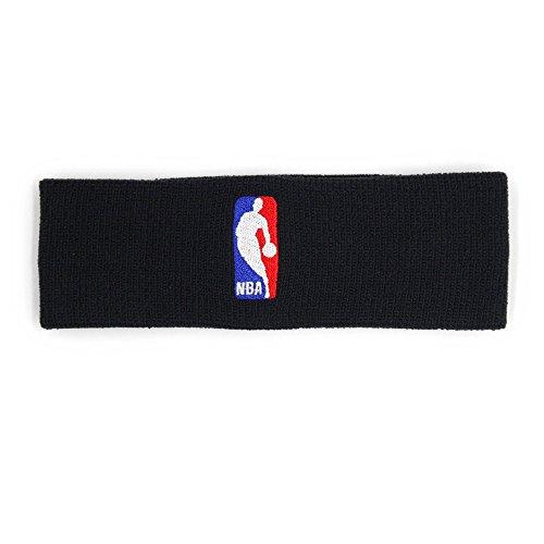 NIKE Headband NBA Cinta, Unisex Adulto, Multicolor (Negro/Negro), Talla Única