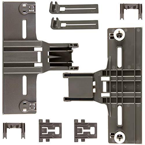 8 Packs Dishwasher parts upper rack W10350376(2) W10195840(2) W10195839(2)...