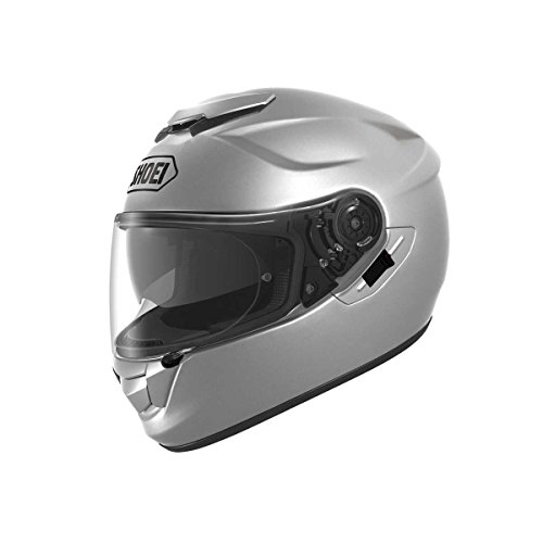 Shoei Casco Moto GT Air Light Plata, Blanco (Blanco), M