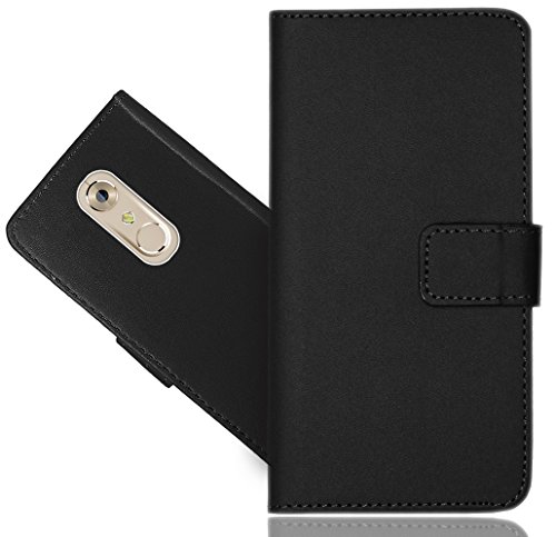 ZTE Axon 7 Handy Tasche, FoneExpert® Wallet Hülle Flip Cover Hüllen Etui Hülle Ledertasche Lederhülle Schutzhülle Für ZTE Axon 7