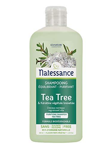 Natessance Naturel zuiverende Shampoo Flacon Capsule, 250 milliliter