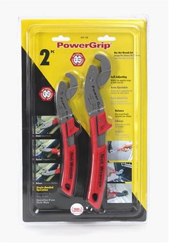 Olympia Tools 01-160 8-inch & 10-inch Power Grip 2 Piece Set Hex Nut Wrench