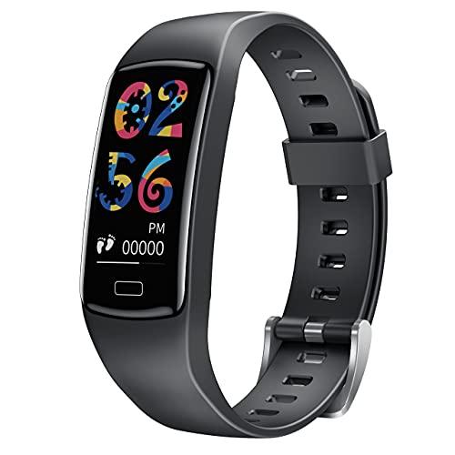 CatShin Smartwatch für Kinder - Fitnessuhr Kinder Mädchen Jungen Jugendlich Armbanduhr Uhren mit Schrittzähler Herzfrequenz Blutdruck Schlafmonitor Sportuhr Wecker Wasserdicht IP67
