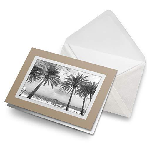 Impresionante tarjetas de felicitación de Biege (inserto) BW – Mallorca Mallorca España en blanco tarjeta de felicitación de cumpleaños para niños y niñas #38734