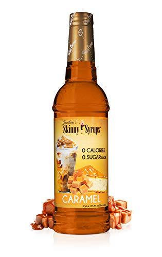 Jordan#039s Skinny Gourmet Syrups Sugar Free Caramel 254Ounce
